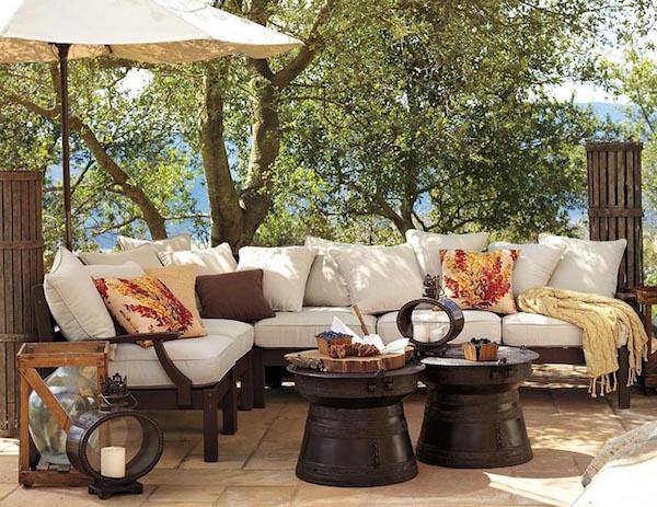 Idee e consigli d 39 arredo per spazi esterni giardini - Lanterne arredo casa ...