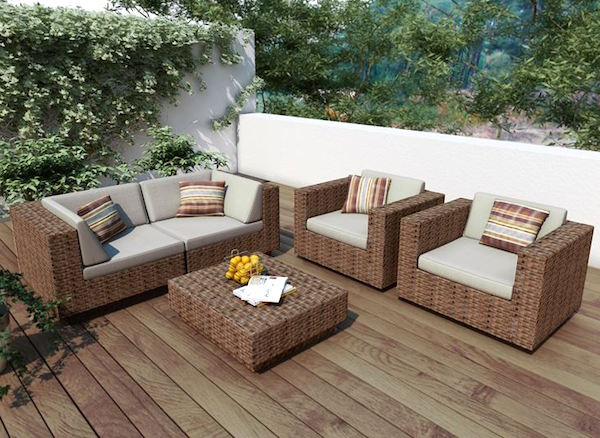 Idee e consigli d 39 arredo per spazi esterni giardini - Arredo terrazzo idee ...