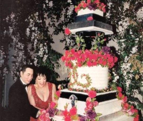 torta nuziale di liza minnelli e david guest foto 9 torta nuziale ...