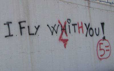 I fly whit you