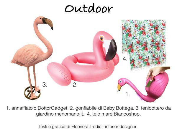 Arredo casa stile tropical e fenicotteri rosa un tocco for Consigli d arredo