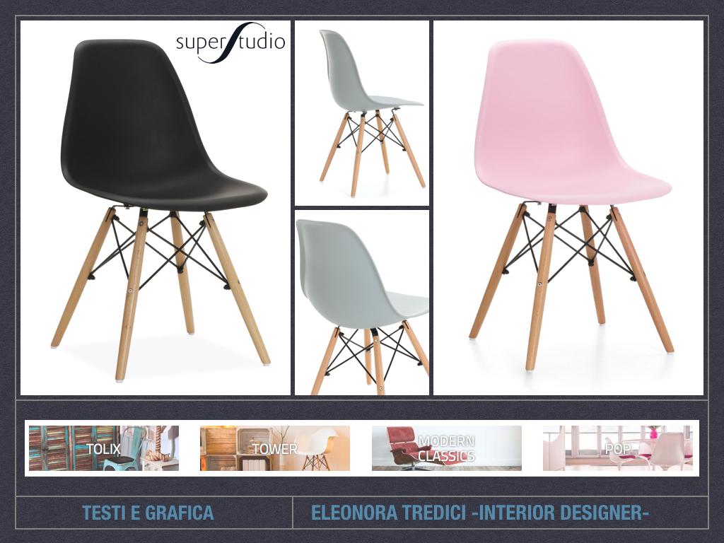 L 39 importanza delle sedie nell 39 arredo for Consigli d arredo