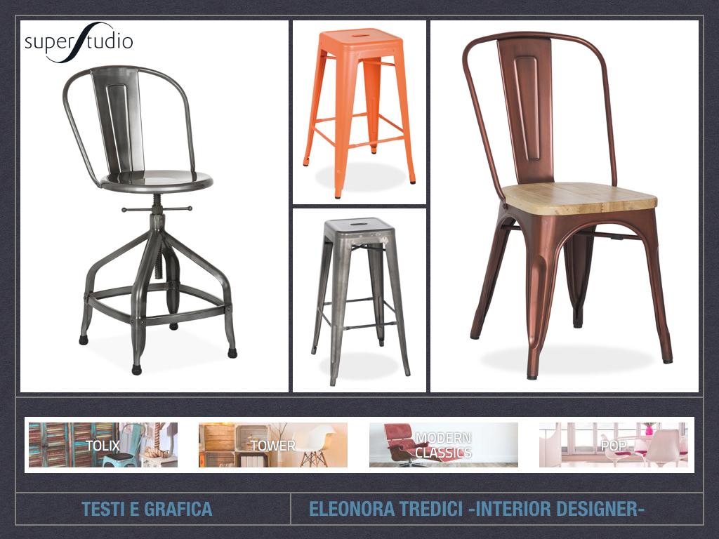 L 39 importanza delle sedie nell 39 arredo for Sedie design online
