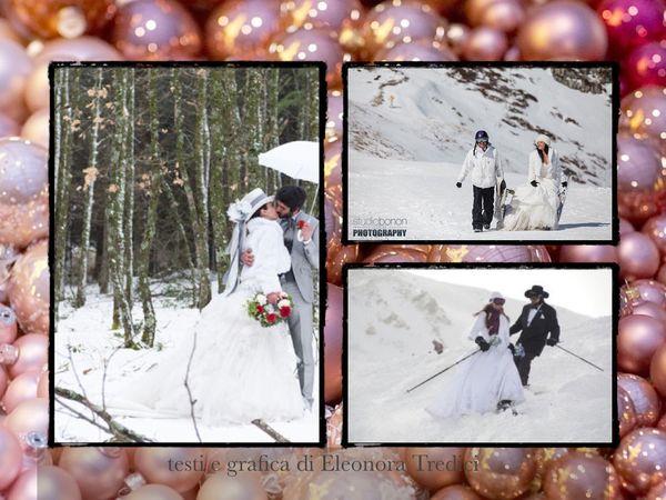 Un matrimonio a tema natalizio invernale noleggiando una for Noleggio cabina invernale