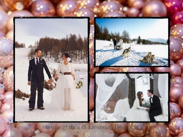 Matrimonio Tema Natalizio : Un matrimonio a tema natalizio invernale noleggiando una