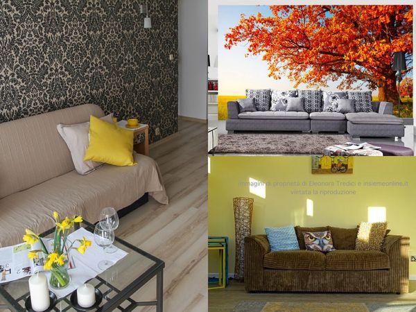 Parete Colorata Dietro Il Divano : Come dipingere o decorare la parete dietro il divano