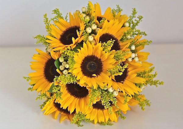 Fiori Matrimonio Girasoli : Idee per un bouquet da sposa fatto su misura voi