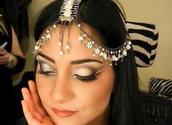Favori Il makeup per spose con occhi e capelli scuri YL46