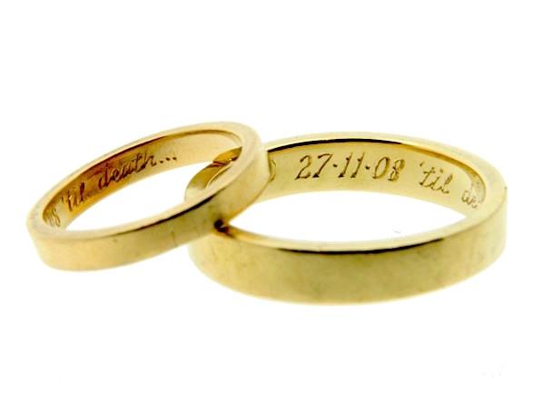 vasta selezione di 82140 54e6f L'incisione: il metodo più semplice per gli sposi di ...