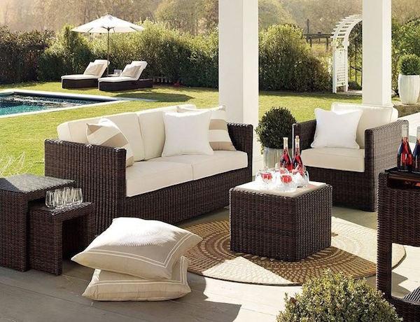 Idee e consigli d 39 arredo per spazi esterni giardini for Giardini arredo