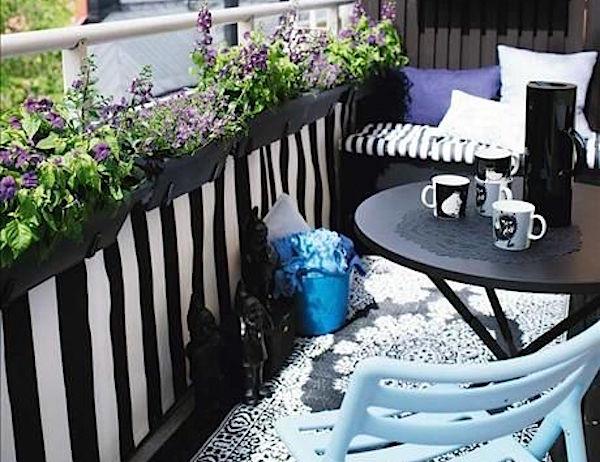 Piccoli balconi cruciverba design casa creativa e mobili for Arredare balconi piccoli