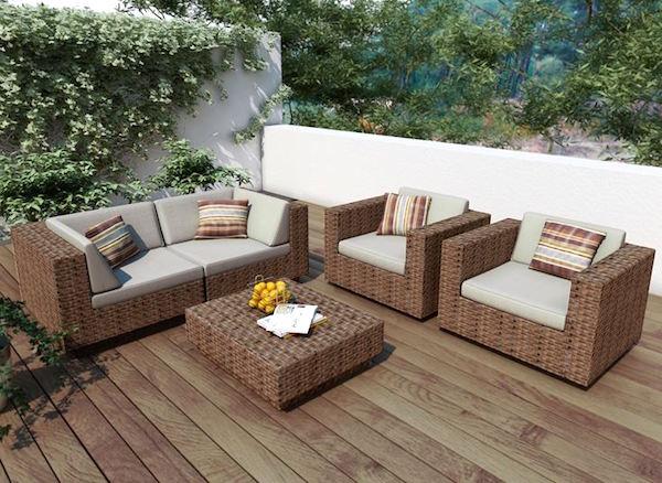 Idee e consigli d 39 arredo per spazi esterni giardini for Mobili per il terrazzo