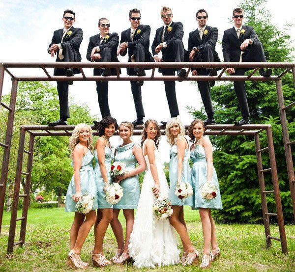 come realizzare foto di matrimonio allegre e divertenti