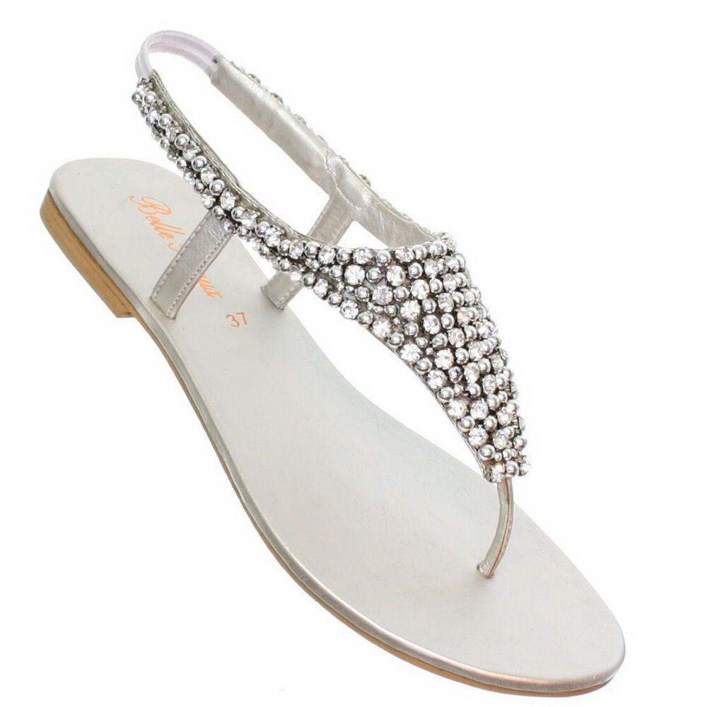 Flat Silver Wedding Shoes Australia