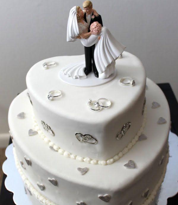 Quale forma per la vostra torta nuziale for Disegni di 2 piani