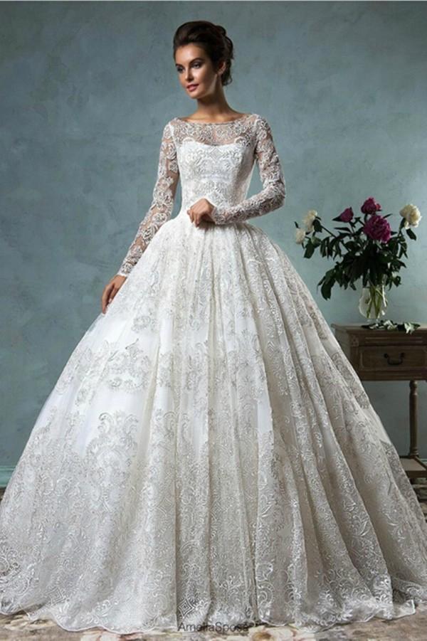 Favoloso L'abito da sposa perfetto per un matrimonio in inverno YX48