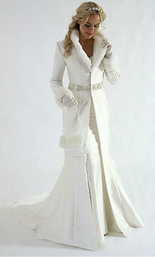L'abito da sposa perfetto per un matrimonio in inverno