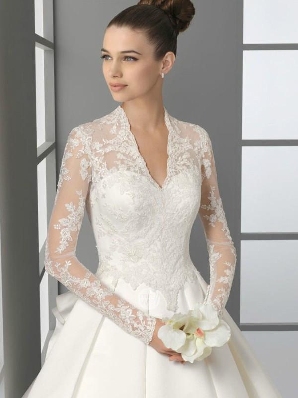 Abiti da sposa per matrimonio invernale