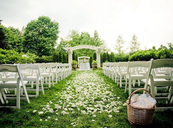 Idee per un addobbo di un matrimonio all 39 aperto for Addobbi piscina per matrimonio