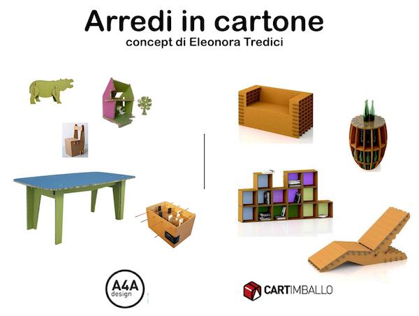 Arredi in cartone belli originali resistenti ed ecologici for Arredi in cartone