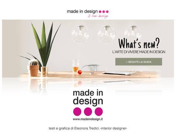 Made in design i marchi pi prestigiosi dell 39 arredo for Vendita online complementi d arredo