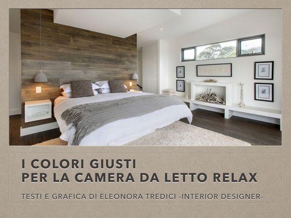 Volete una camera da letto rilassante? Ecco i colori da scegliere!