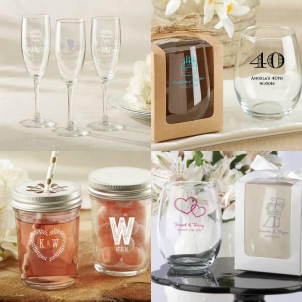 Bomboniere Matrimonio Bicchieri.Bicchieri Del Ricevimento Una Gradita Bomboniera Per Gli Ospiti