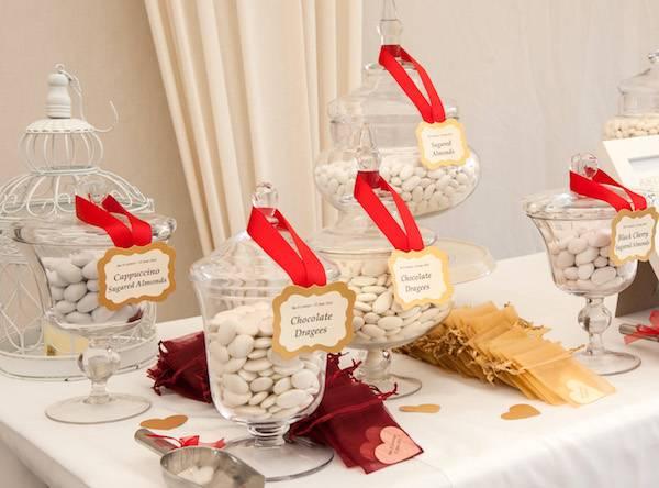 Confettata Matrimonio Natalizio : La confettata l angolo più dolce del vostro ricevimento