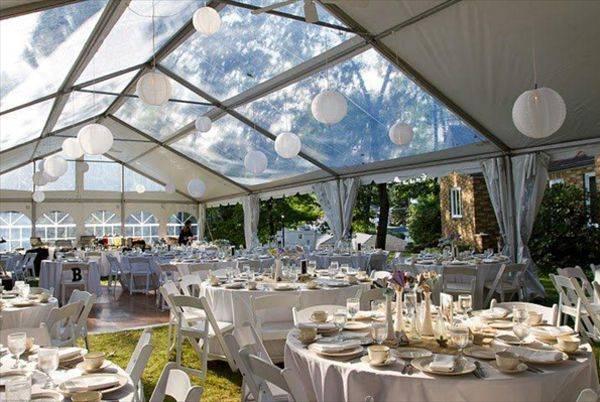 Matrimonio In Tensostruttura : Tensostrutture cristal per una festa di matrimonio sotto