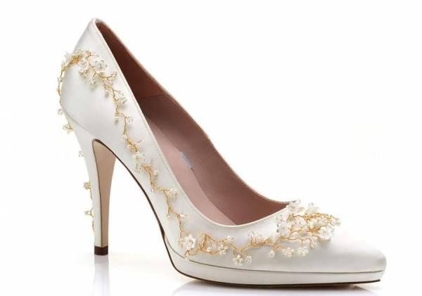 Matrimonio Stile Bohemien : Le scarpe da sposa harriet wild puro stile bohémien