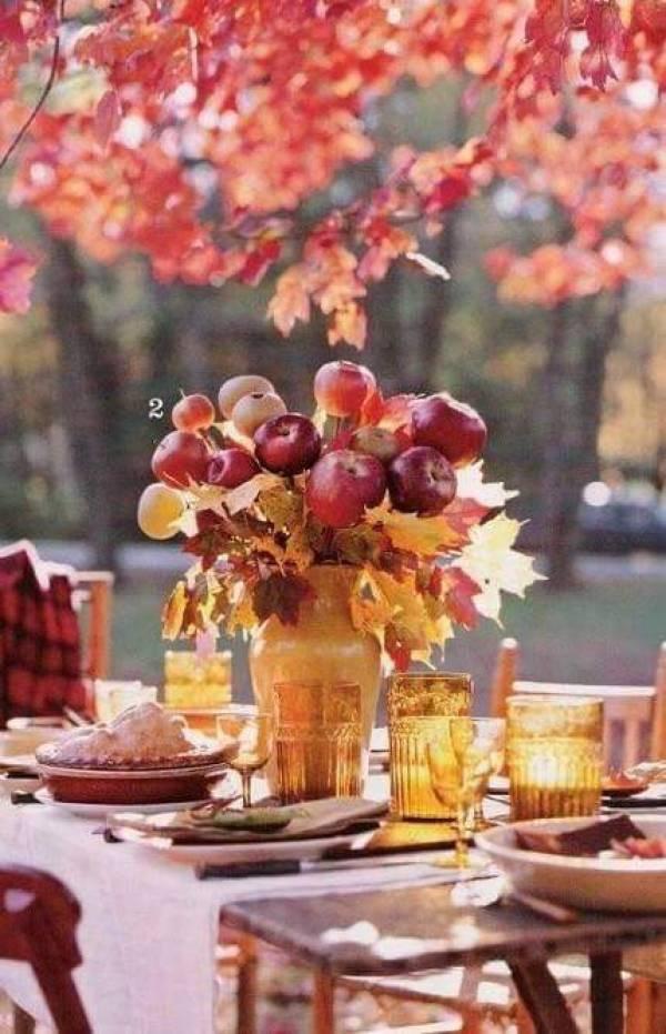 Tema Per Un Matrimonio Elegante : Matrimonio d autunno colori caldi per un addobbo elegante
