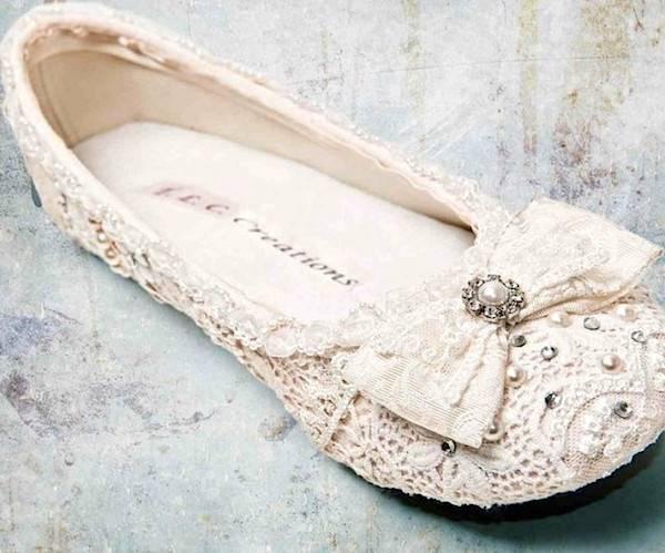 scegli originale scopri le ultime tendenze buono sconto Scarpe da Sposa ballerine: una scelta di confort ed eleganza