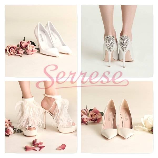 Los Angeles taglia 7 Saldi 2019 Scarpe da sposa Serrese: raffinatezza ed eleganza tutta made ...