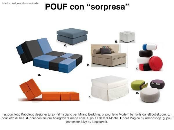 Pouf Letto Arredamento.Il Pouf Un Icona D Arredo Dal Design Tutto Italiano
