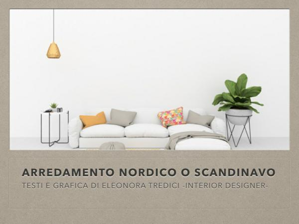 Stile nordico o scandinavo oggi lo si impara online for Arredamento nordico on line