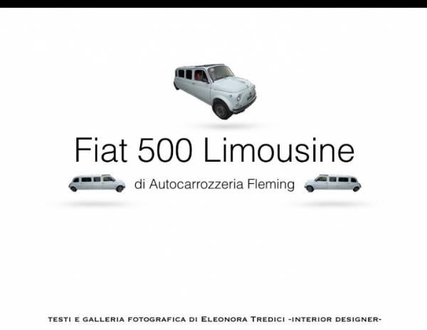 Partecipazioni Matrimonio Con Fiat 500.Nozze In Grande Stile Con Una Fiat 500 Limousine