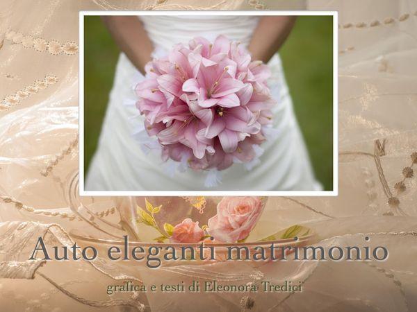 Tema Per Un Matrimonio Elegante : Idee per il noleggio di un auto matrimonio elegante