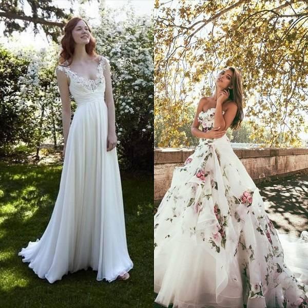 Abiti Da Sposa Xl.Abiti Da Sposa Primavera Fiori Farfalle E Tanta Leggerezza